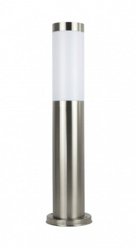 Lighting pole made of 100cm stainless steel LED