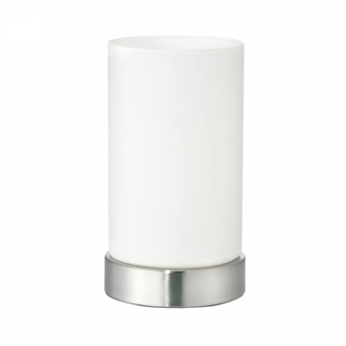 Modern Milky Table lamp with switch on the cable