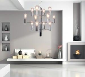INTERIOR LAMP (HANGING) ZUMA LINE CANDEL PENDANT HP1811-12 small 1