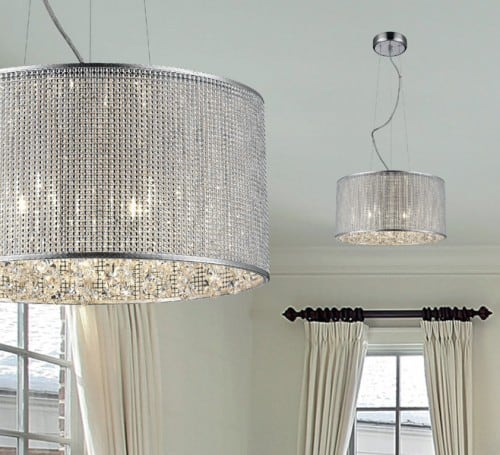 INTERIOR LAMP (HANGING) ZUMA LINE BLINK PENDANT P0173-05W