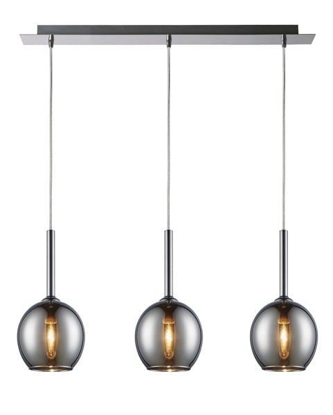 INTERIOR LAMP (HINGE) ZUMA LINE MONIC PENDANT MD1629-3A (CHROME)