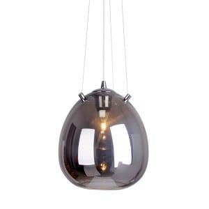 Modern Pendant Lamp Black ZUMA LINE MOON PENDANT OYD small 1