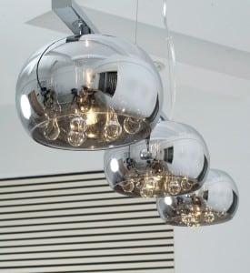 INTERIOR LAMP (HINGE) ZUMA LINE CRYSTAL PENDANT P0076-03S-F4FZ small 1