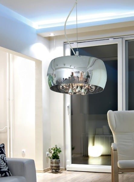 INTERIOR LAMP (HANGING) ZUMA LINE CRYSTAL PENDANT P0076-03E-F4FZ