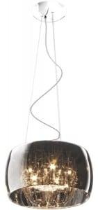 INTERIOR LAMP (HANGING) ZUMA LINE CRYSTAL PENDANT P0076-05L-F4FZ small 0