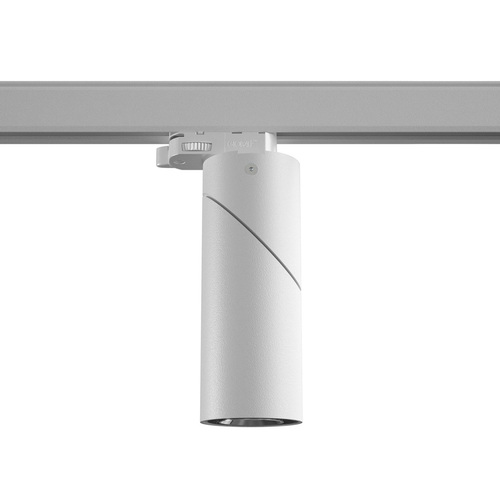 TOLEDO B3T projector track max. 1x50W, GU10, 230V, white (mat structure) RAL 9003