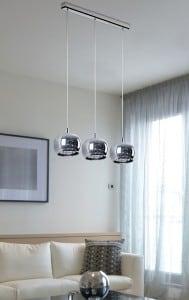 INTERIOR LAMP (HANGING) ZUMA LINE CRYSTAL PENDANT P0076-03N-B5FZ small 1