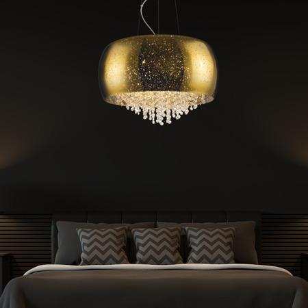 INTERIOR LAMP (HANGING) ZUMA LINE VISTA PENDANT P0076-05K (gold)