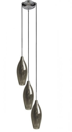INTERIOR LAMP (HANGING) ZUMA LINE CHAMPAGNE PENDANT MD2101A-3S (smoky)