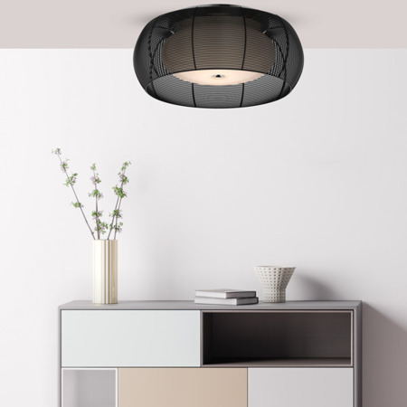 INTERIOR LAMP (CEILING) ZUMA LINE TANGO CEILING MX1104-2L (black)