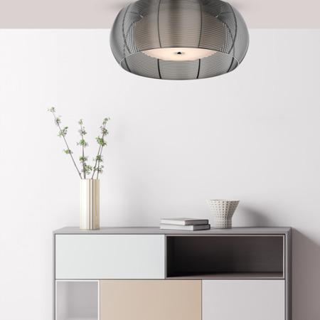 INTERIOR LAMP (CEILING) ZUMA LINE TANGO CEILING MX1104-2L (silver) - Silver