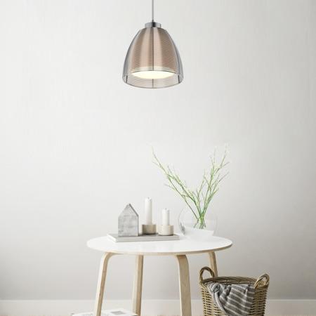 LAMPA WEWNĘTRZNA (WISZĄCA) ZUMA LINE PICO PENDANT MD9023-1L (silver) 2