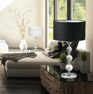 INTERIOR LAMP (TABLE) ZUMA LINE REA TABLE RLT93163-1B (black) - Black small 1