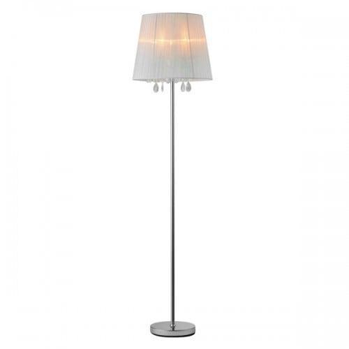 Lampa Stojąca Podłogowa z Kryształkami Cesar Floor Glamour
