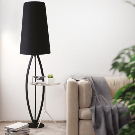 INTERIOR LAMP (FLOOR) ZUMA LINE LORITA FLOOR TS-110314F-BK (black) - Black