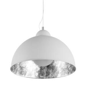 LAMPA WEWNĘTRZNA (WISZĄCA) ZUMA LINE ANTENNE PENDANT TS-071003P-WHSI (shade silver inside)