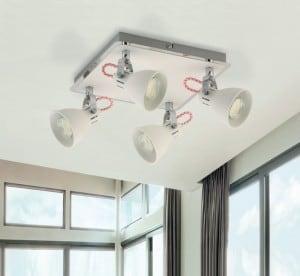 INTERIOR LAMP (CEILING) ZUMA LINE RAVA CEILING CK100008-4 small 1