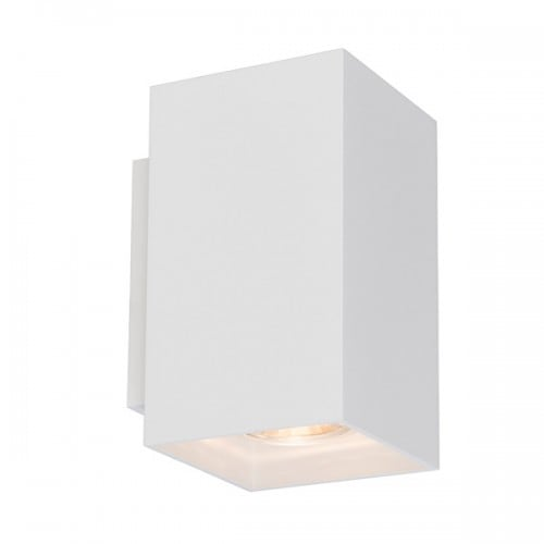 INTERIOR LAMP (KINKIET) ZUMA LINE SANDY WL SQUARE WALL 92697 WHITE