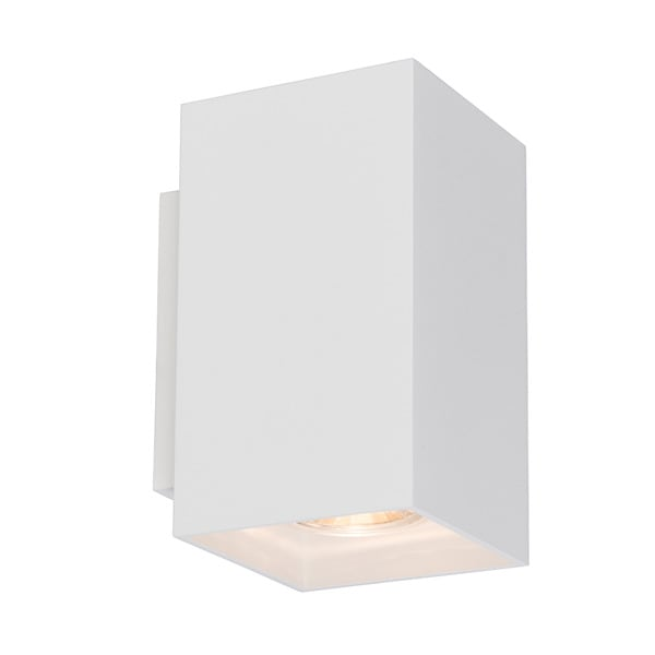 INTERIOR LAMP (KINKIET) ZUMA LINE SANDY WL SQUARE WALL 92697 WHITE