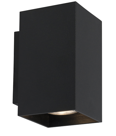 INTERIOR LAMP (KINKIET) ZUMA LINE SANDY WL SQUARE WALL 92698 BLACK
