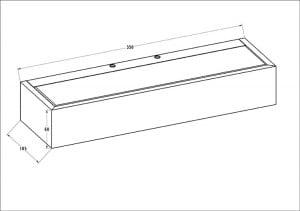 INTERIOR LAMP (KINKIET) ZUMA LINE HOUX WL 35 small 1