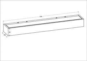 INTERIOR LAMP (KINKIET) ZUMA LINE HOUX WL 61 small 1