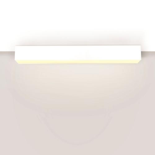 Linear ceiling lamp LUPINUS / N SQ 115 L-2910 DP