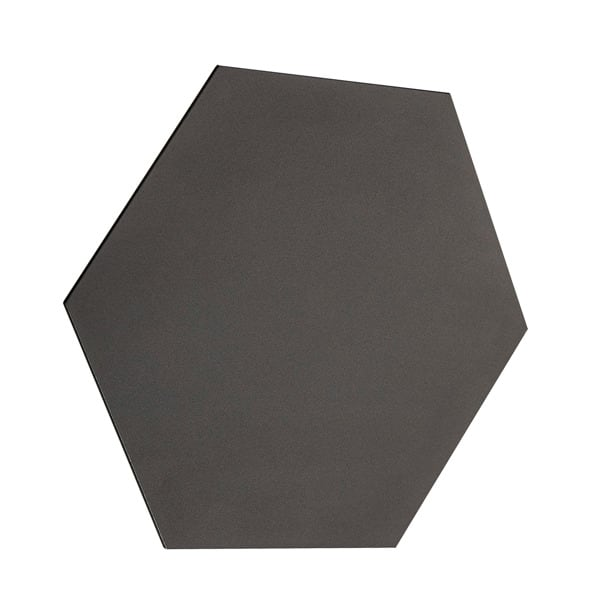INTERIOR LAMP (KINKIET) ZUMA LINE SHEET WL HEXAGON WALL 20030-BK BLACK