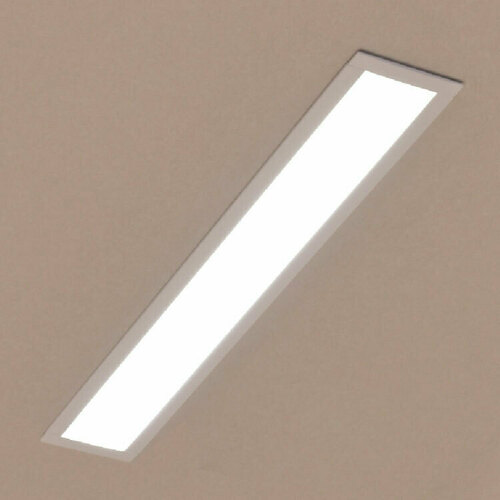 Linear recessed lamp LUPINUS WPUST 120 L-1180 SP