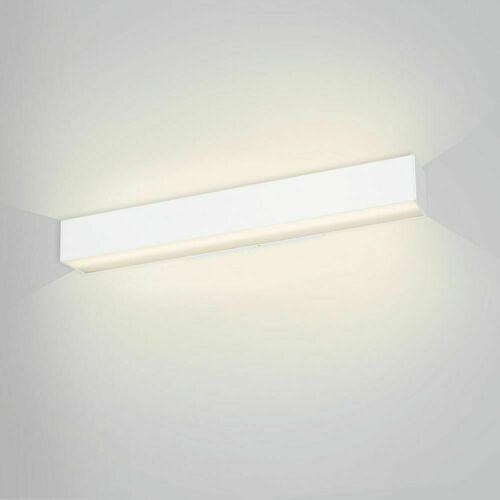 Linear wall lamp up / down with a distance LUPINUS / K SQ UP D 115 L-2620 DP
