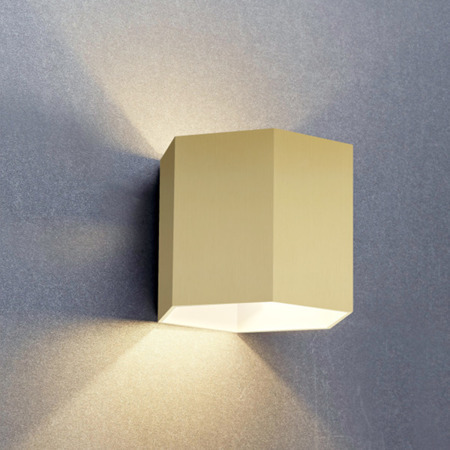 INTERIOR LAMP (KINKIET) ZUMA LINE POLYGON WL WALL 20070-GD