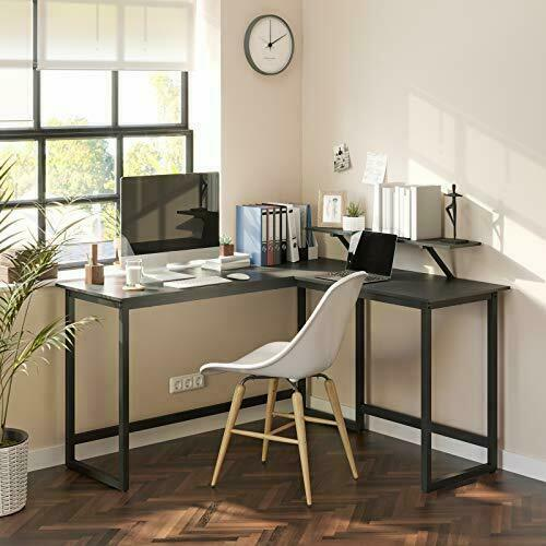 Gaming corner black desk LWD56BK