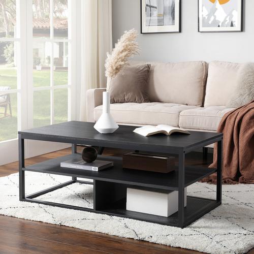 Modern coffee table / black table LCT501B01