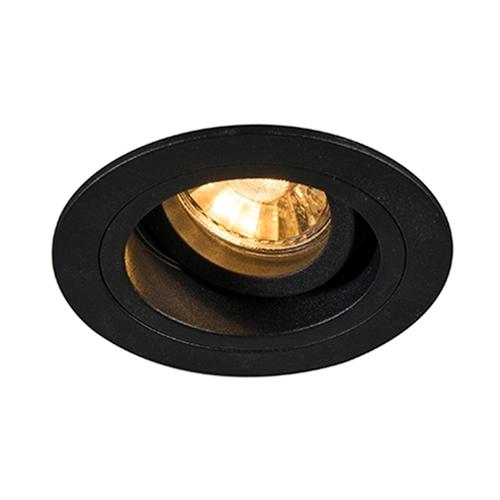 H 92700 Chuck Dl Round Spot Black / Black