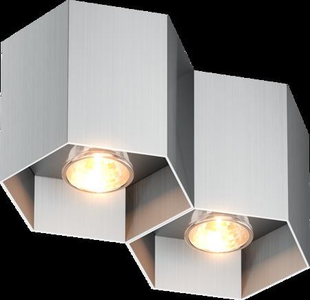INTERIOR LAMP (SPOT) ZUMA LINE POLYGON CL 2 SPOT 20036-AL ALU