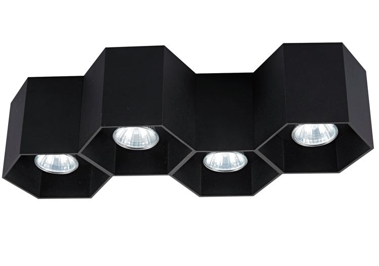 INTERIOR LAMP (SPOT) ZUMA LINE POLYGON CL 4 SPOT 20037-BK BLACK