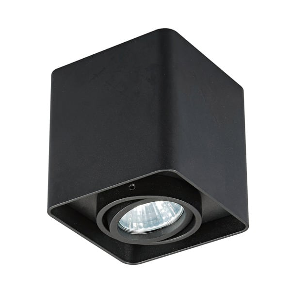 INTERIOR LAMP (SPOT) ZUMA LINE QUADRY SL 1 SPOT 20039-BK BLACK