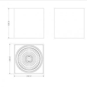 INTERIOR LAMP (SPOT) ZUMA LINE BOX SL1 SPOT 90432 (black) small 1