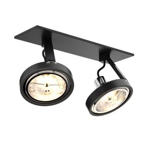 LAMPA WEWNĘTRZNA (SPOT) ZUMA LINE GINO DL2 20006-BK(black)