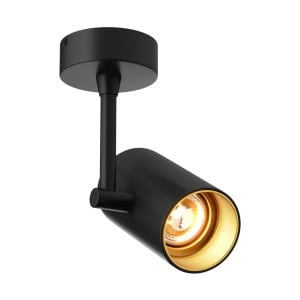 INTERIOR LAMP (KINKIET) ZUMA LINE TORI SL 1 20014-BK (black gold) small 0