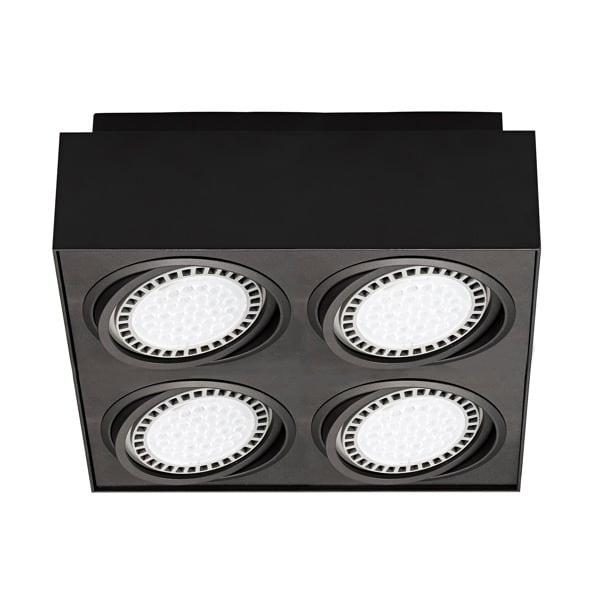 INTERIOR LAMP (SPOT) ZUMA LINE BOXY CL 4 SPOT 20076-BK