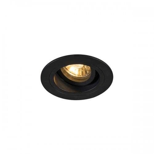 Lampa wewnetrzna spot zuma line chuck dl round 92700 black l