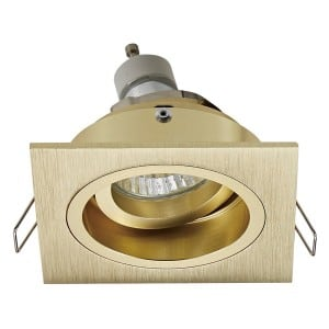 INTERIOR LAMP (SPOT) ZUMA LINE CHUCK DL SQUARE 92703-GD GOLD / GOLD small 1