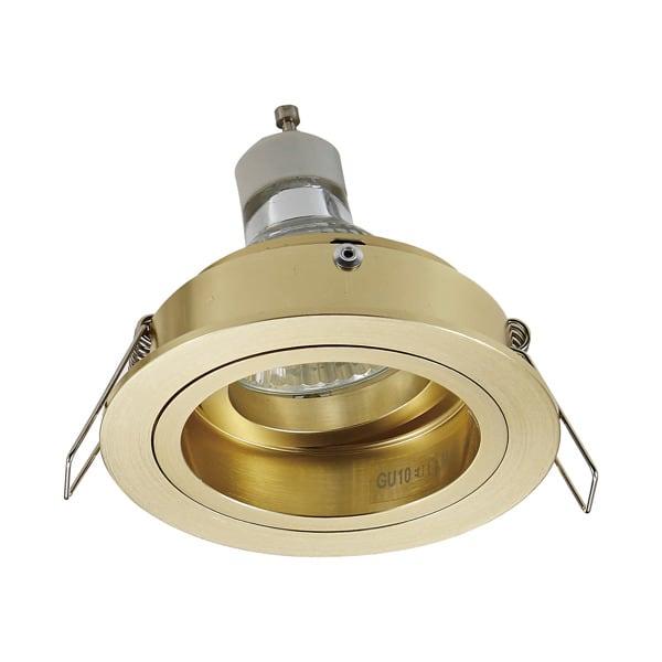 INTERIOR LAMP (SPOT) ZUMA LINE CHUCK DL ROUND SPOT 92699 GOLD