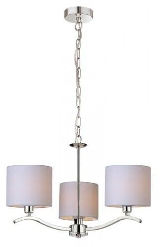 INTERIOR LAMP (HINGE) ZUMA LINE CARMEN PENDANT RLD94103-3