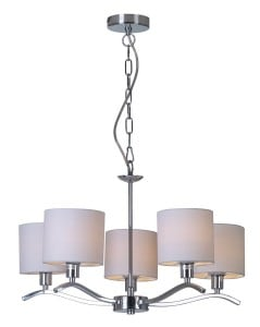 LAMPA WEWNĘTRZNA (WISZĄCA) ZUMA LINE CARMEN PENDANT RLD94103-5