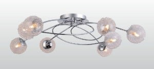 INTERIOR LAMP (CEILING) ZUMA LINE JUMBLE CEILING RLX92067-8B small 1