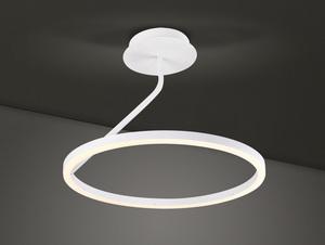 Hanging lamp Round white Led Large ANGEL small 1