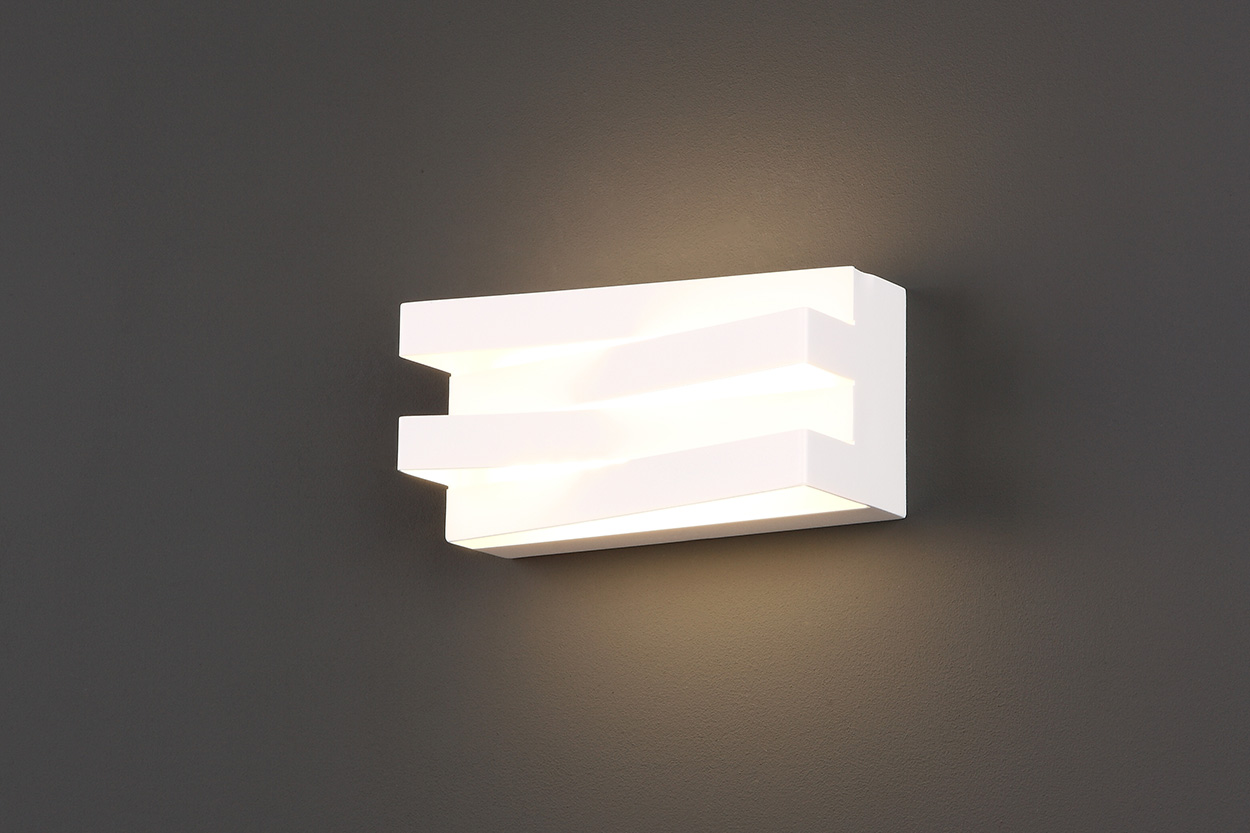 Araxa wall lamp white