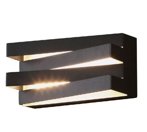 Araxa wall lamp black